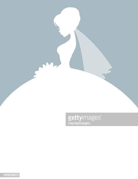Elegant Bride Silhouette