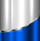 Elegant metallic background, vector design.