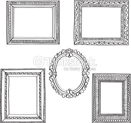 Elegant Ornate Frames Vector Art | Thinkstock