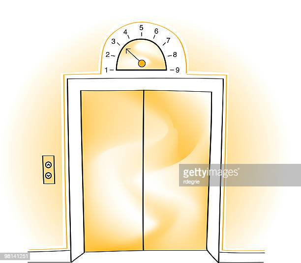 Elevator stock illustrations and cartoons getty images