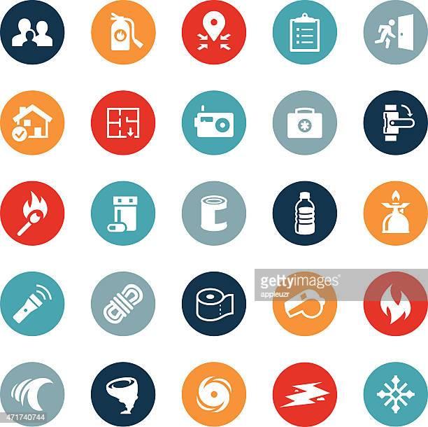 Emergency Preparation Icons