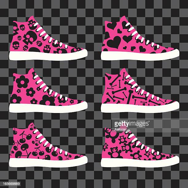 Estilo Emo zapatos