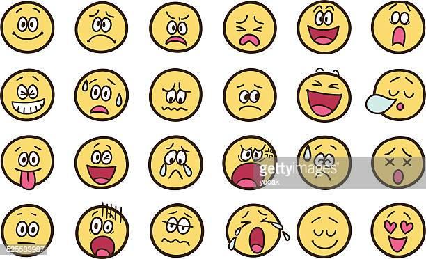 Emoticon doodles