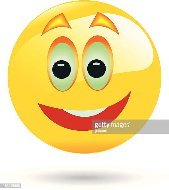 Emoticon - smile