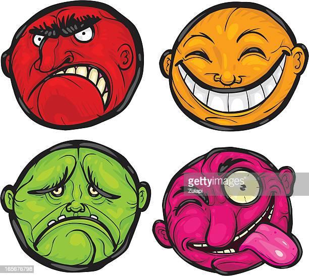 Emoticons (Grotesque series)