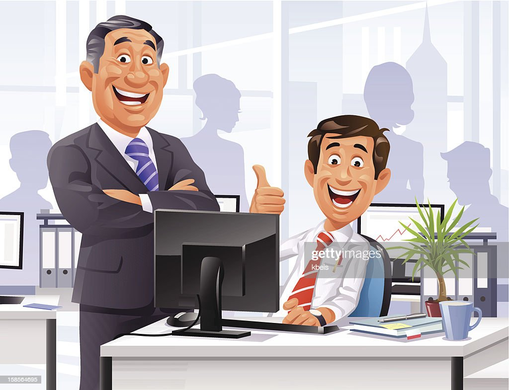 Employee of the Month : Vector Art