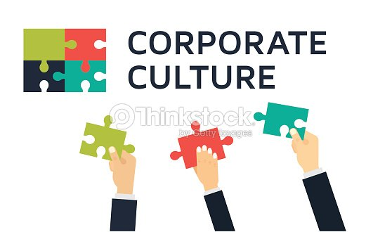 employees holding and connecting puzzle pieces together teamwork and