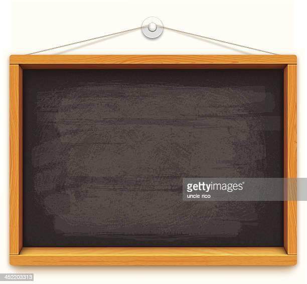 empty blackboard