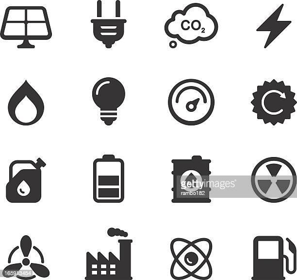 Energy, Power Icons