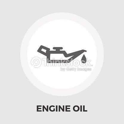 Engine Oil Flat Icon Vector Art Thinkstock