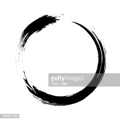 Enso Circular Brush Stroke Vector Art Getty Images