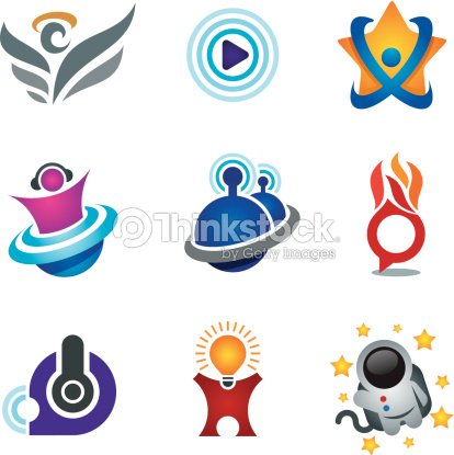 Entertainment And Fun Symbol Of Exploring Happiness Study Logo