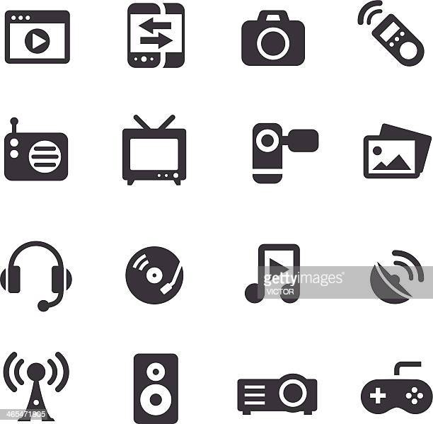 Entertainment and Media Icons - Acme Series