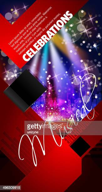 Entertainment - Musical Party Background