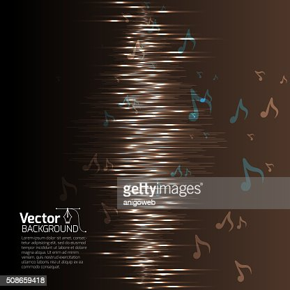 Equalizer music background : Vector Art