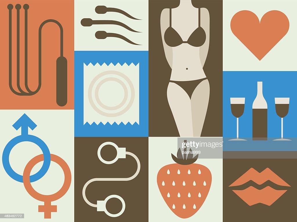 Erotic vector art