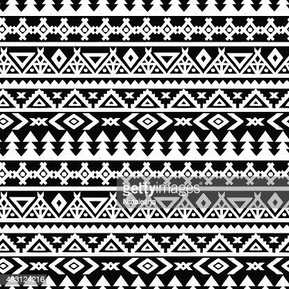 ethnic border seamless pattern vector art thinkstock