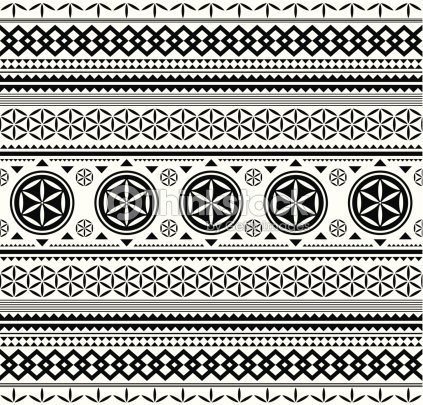Ethnic Pattern Vector Art Thinkstock