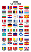 Europe Flag Collection - Complete