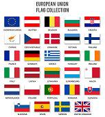 European Union Flag Collection - Complete