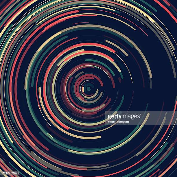 Evening Concentric Circle Pattern