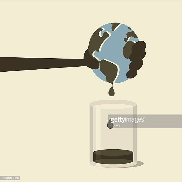 Extraction of crude oil