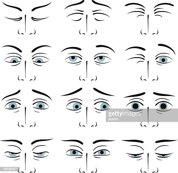 Eyes expressions