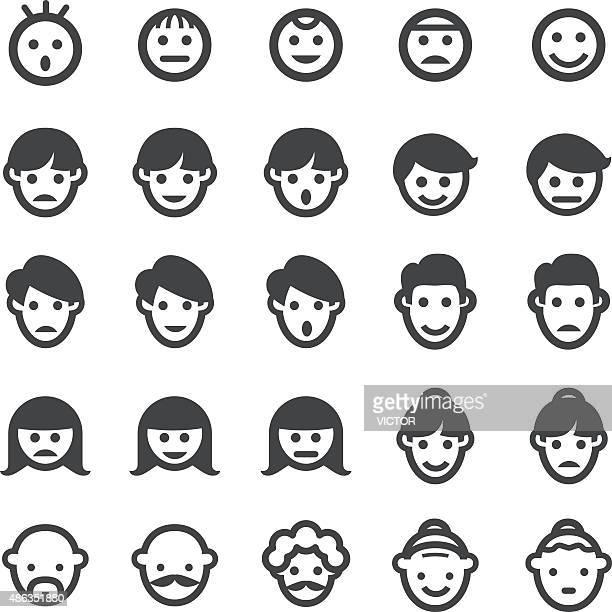 Gesicht Icons-Smart-Serie