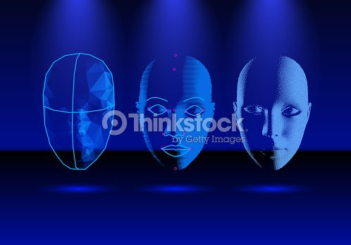 Face recognition technology in progress, from old science to modern smartphone verification