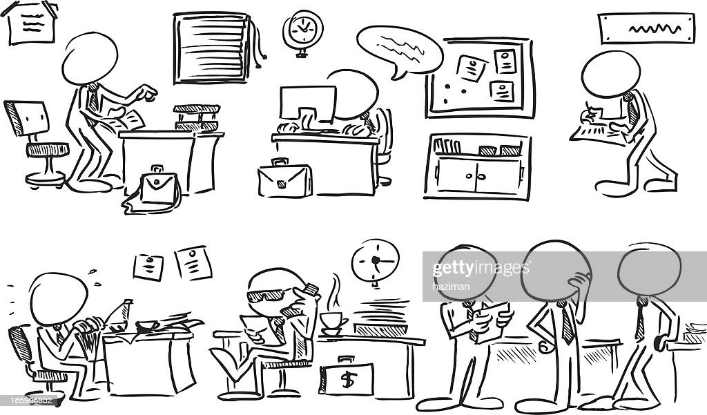 Office Clipart Lizenzfrei