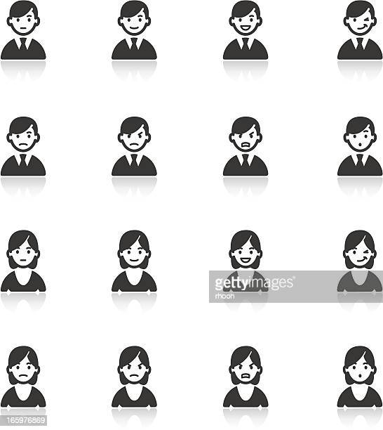 Facial expressions, Emoticons