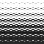 Fade gradient pattern. Vector gradient seamless background. Gradient halftone texture.