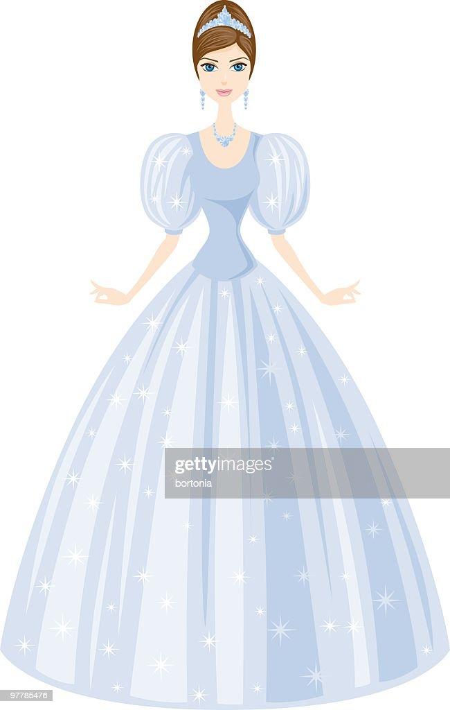 Fairy Tale Princess : Vector Art