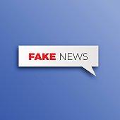 Fake news HOAX concept breaking fake news