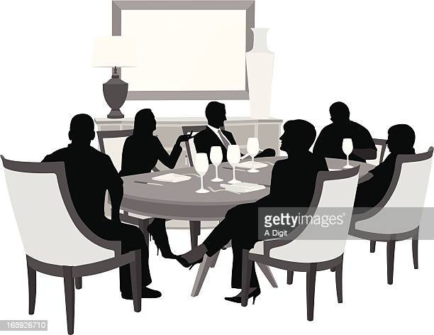 Dining Room Stock Illustrations and Cartoons | Getty Images