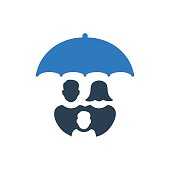 Meticulously Designed Family Insurance Icon