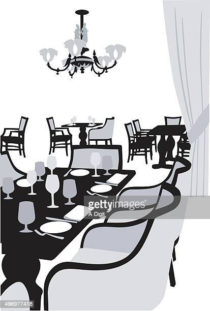 fancy dinner table clipart. fancy dining dinner table clipart