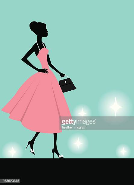 Fashion Show Stock Illustrations And Cartoons Getty Images