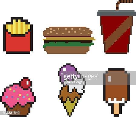 pixel art objet