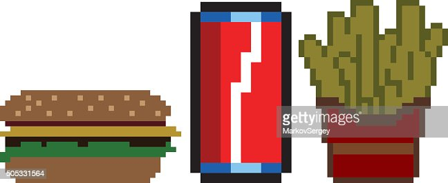 pixel art boisson