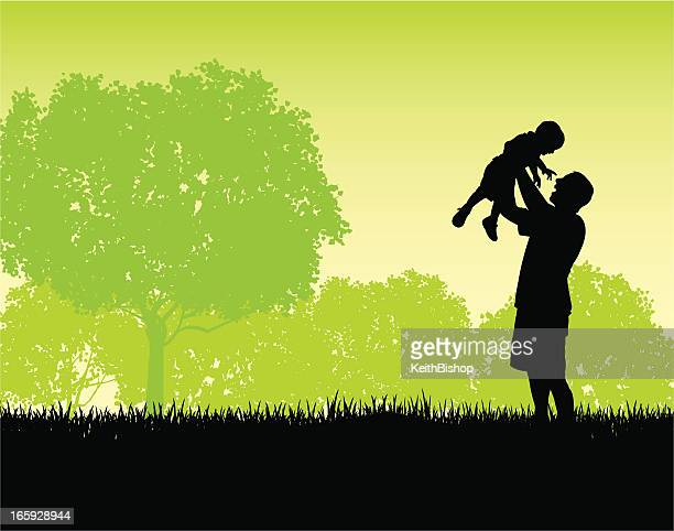 Father and Son Playing - Lifestyle Background