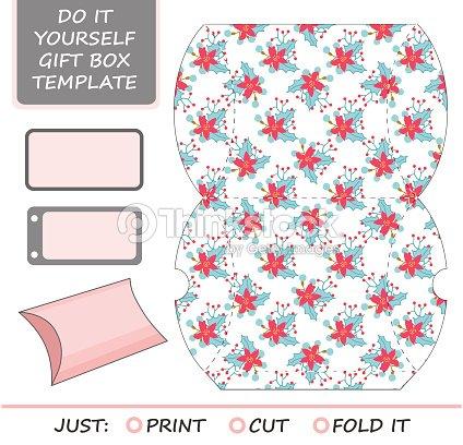 Favor gift box die cut box template vector art thinkstock favor gift box die cut box template vector art solutioingenieria Images