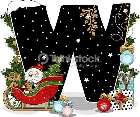 Schriftart Weihnachten.Festliche Alphabet Weihnachtsthema Weihnachtenelemente Weihnachten