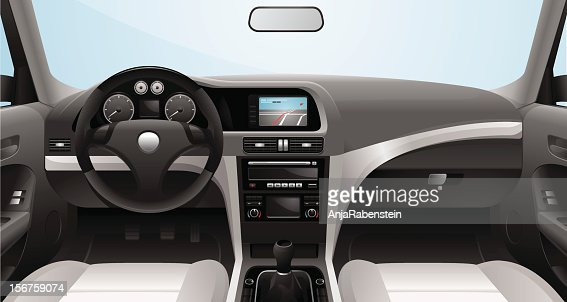 fictional vector car cockpit vector art getty images. Black Bedroom Furniture Sets. Home Design Ideas