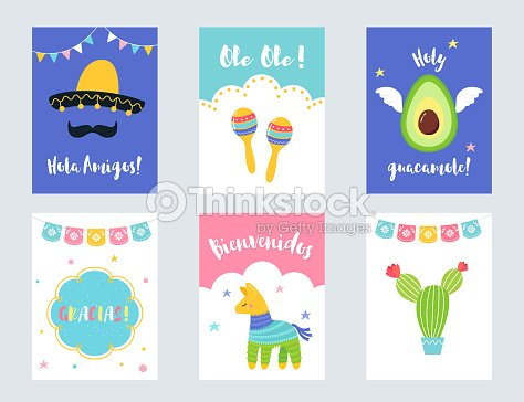 Fiesta mexican party invitations and cards vector set arte vetorial fiesta mexican party invitations and cards vector set arte vetorial stopboris Image collections
