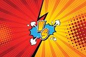 Fight backgrounds comics style design. Vector illustration. Eps 10