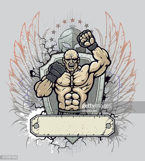 MMA fighter crest