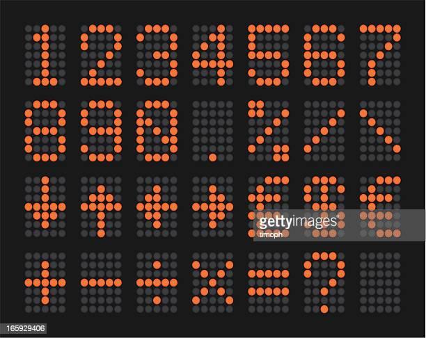 Cifras de LED
