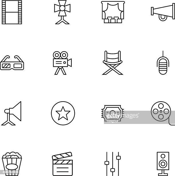 Filmindustrie Icons-Light