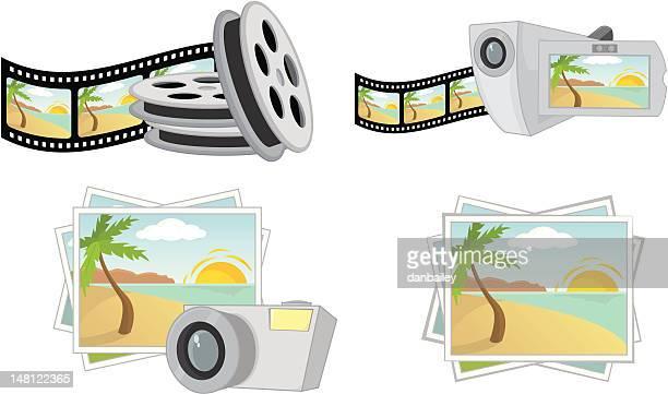 Film & photography icons